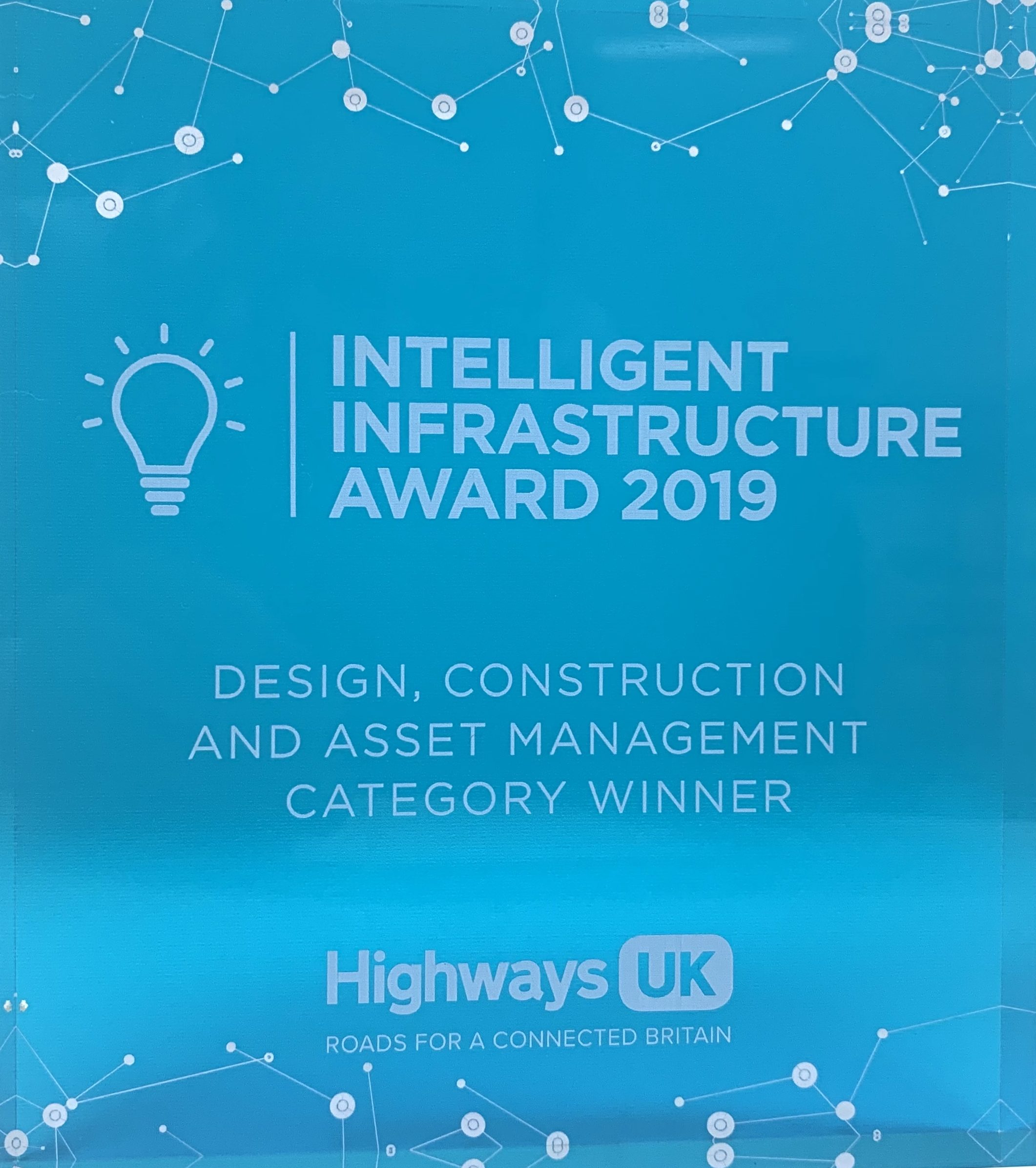 Winner – Design, Construction And Asset Management –  Highways UK 2019